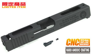 Guarder 7075 Aluminum CNC Slide for TM G18C CIA 60th (Black)