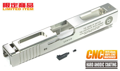 Guarder 7075 Aluminum CNC Slide for TM G18C CIA 60th (Silver)