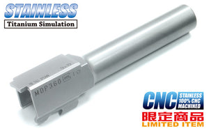 Guarder CNC Stainless Outer Barrel for KJ G19 - A Type