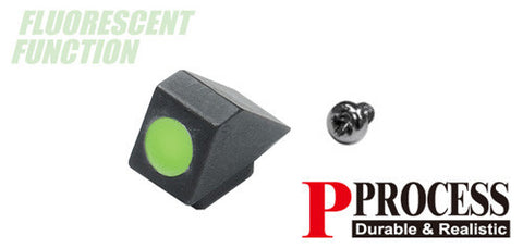 Guarder Steel Standard Night Front Sight for TM G-Series (Green)
