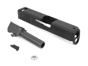 GunsModify Aluminum Slide with Stainless (NITRIDE Black) Barrel set for G26