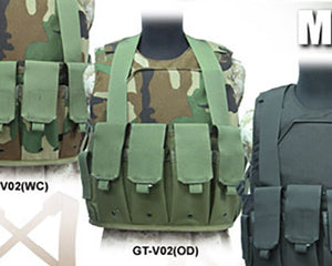 Guarder Chest Pouches Magazine Holders (OD)