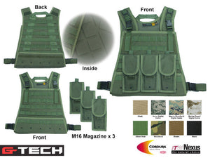 MOD Plate Carrier Harness
