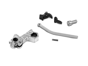 Airsoft Masterpiece CNC Steel Hammer & Sear Set for Marui Hi-CAPA (Hex) Type 22 (Silver)