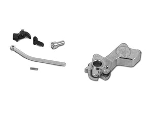Airsoft Masterpiece CNC Steel Hammer & Sear Set for Marui Hi-CAPA (Star) Type 26 (Silver)