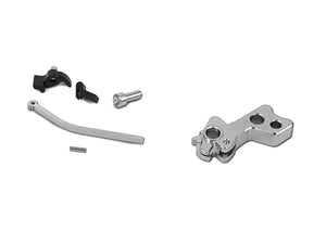 Airsoft Masterpiece CNC Steel Hammer & Sear Set for Marui Hi-CAPA Type 5 (Silver)