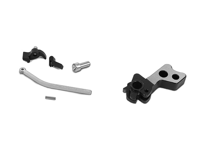 Airsoft Masterpiece CNC Steel Hammer & Sear Set for Marui Hi-CAPA Type 5 (Two Tone)