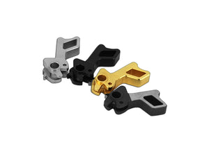 Airsoft Masterpiece CNC Steel Hammer & Sear Set for Marui Hi-CAPA Type 6 (STI Square) (Black)