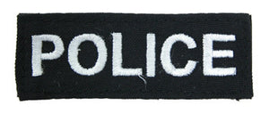 POLICE Patch (WHITE)