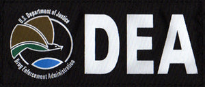 DEA Black Patch (Medium)