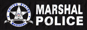 US. MARSHAL Patch (Large)