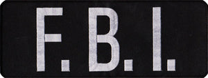 F.B.I. Back Patch (Large)