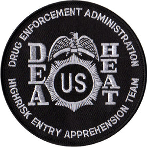 D.E.A. HEAT Patch (BLACK)