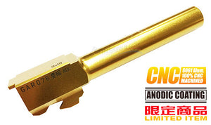 Guarder Aluminum CNC Titanium Golden Outer Barrel for TM G17 (SA Marking)