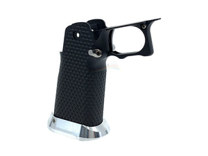 Airsoft Masterpiece Aluminum Grip for Hi-CAPA Type 3 (Black)