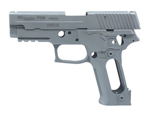 Guarder Aluminum Slide & Frame for Marui P226 (Silver)