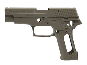 Guarder Navy Aluminum Slide & Frame for Marui P226 (Tan)
