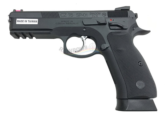 APLUS Custom KJ Works CZ75 SP01 Shadow GBB/CO2 Pistol