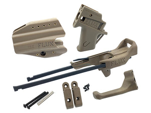 FLUX Brace For Umarex, Marui G-Series with Holster Full Set (Tan)