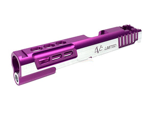Airsoft Masterpiece STI LIMITED Standard Slide for Hi-CAPA (Purple, TwoTone)