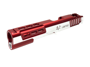 Airsoft Masterpiece STI LIMITED Standard Slide for Hi-CAPA (Red, TwoTone)