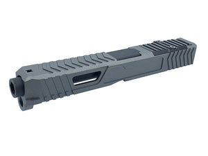 Airsoft Artisan Dynamic Weapon Solution RMR Cut Slide Kit for TM G17 (Cerakote Coating, Titanium Grey)