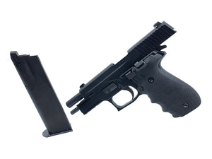 KSC P226R GBB with Hogue Grip GBB Pistol (System7, Black, No Marking)