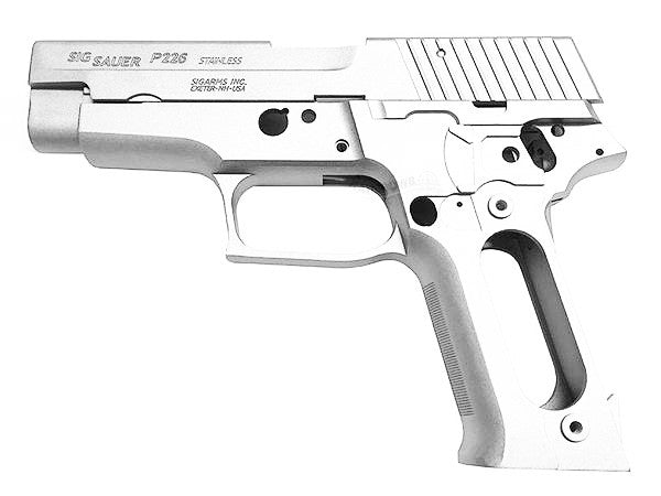 Guarder Original Navy Aluminum Slide & Frame for Marui P226