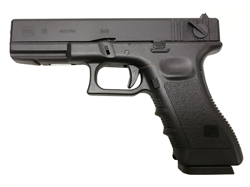 APLUS Custom KJ Works KP18 GBB/CO2 Pistol (Black)