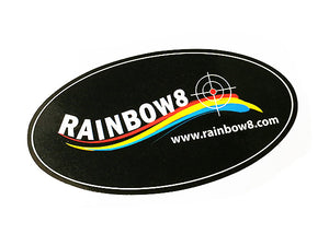 Rainbow8 Colour Sticker (Circle)