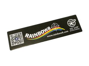 Rainbow8 Colour Sticker