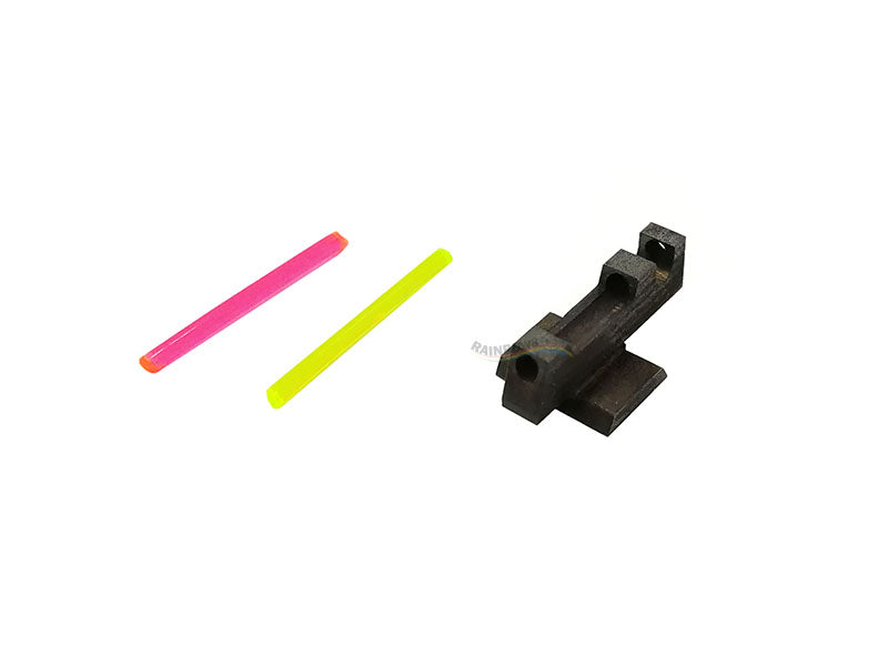 JLP PERFECT DOT FRONT SIGHT FOR MARUI HI-CAPA (RED & GREEN)