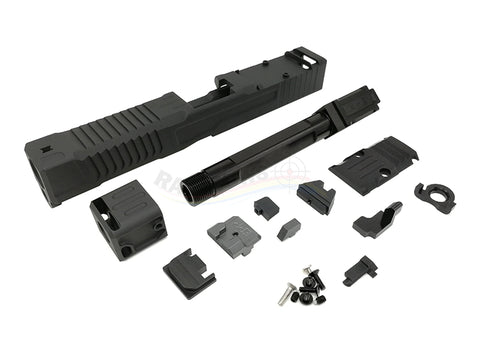 Ready Fighter FI Style MK1 with Comp Slide Set For Marui 18C (Black)