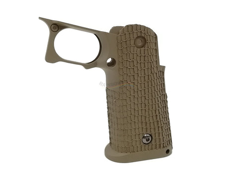 Airsoft Masterpiece Custom STI Costa Grip (Cerakote Sand)