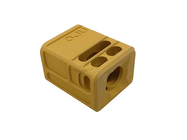 Ready Fighter TB Style V2 Micro Comp 14mm CW Thread (Gold)
