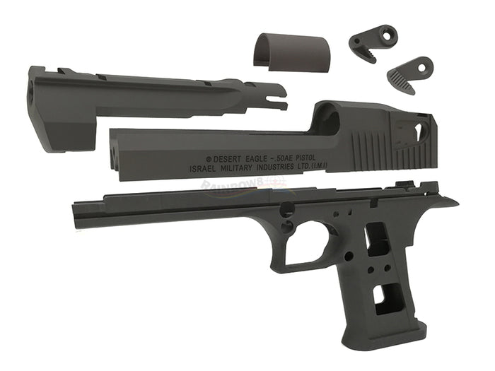 Guarder Aluminum Slide & Frame for MARUI Desert Eagle .50 - (CERAKOTE Black)