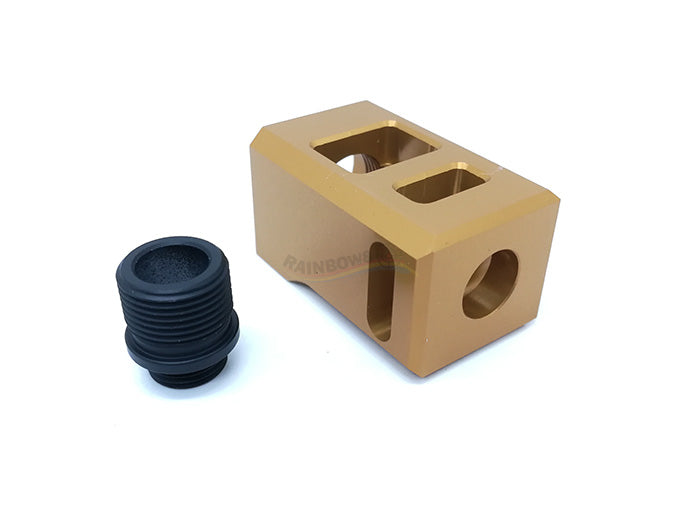 ESD Comp 14mm CW/CCW Thread (Gold)