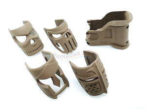 WTF Receiver Front Cover (Full Set) For AR / M4 Series (Tan)
