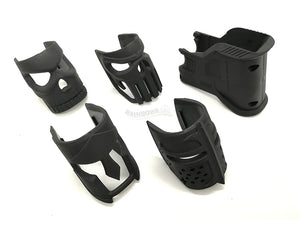 WTF Receiver Front Cover (Full Set) For AR / M4 Series (Black)