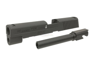 Creation Aluminum Slide Set for Marui P226 Railed GBB (NAVY Marking)