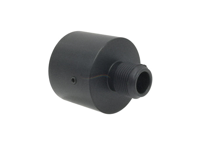 T-N.T. Studio APS-X CNC Silencer Adapter For KSC MP9 (Black)