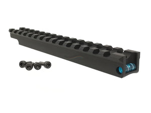 Maple Leaf CNC Precision Level Scope Rail Mount with Bubble Level For TM VSR-10 Series / FN SPR A5M (Blue)