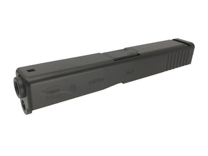 GunsModify Aluminum CNC Slide & Barrel Set For Marui G19 (Black)