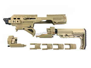 Pistol to Carbine Conversion Full Kit Set (Tan)