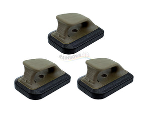 SpeedPlate Magbase  For Marui G-Seires (FDE) - Set of 3PCS