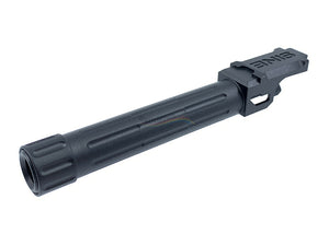 5KU Threaded Outer Barrel For Marui G19 (14MM CCW, Black)