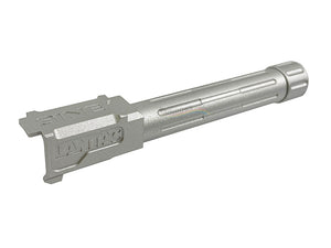 5KU Threaded Outer Barrel For Marui G19 (14MM CCW, Silver)
