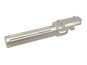 5KU Standard Outer Barrel For Marui G19 (14MM CCW, Silver)