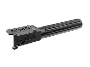 5KU Standard Outer Barrel For Marui G19 (14MM CCW, Black)