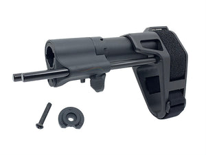 SB Tavtical Pistol Stabilizing Brace For M4 AEG  (Black)